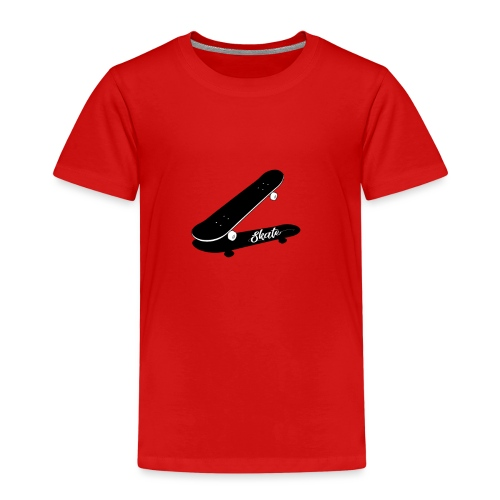 skate - Camiseta premium niño