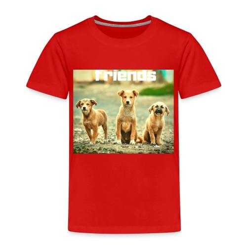+++ HUNDE FREUNDE BANDE GESCHENK +++ - Kinder Premium T-Shirt
