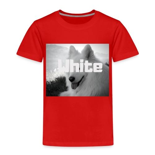 +++ WHITE DOG GESCHENKIDEE +++ - Kinder Premium T-Shirt