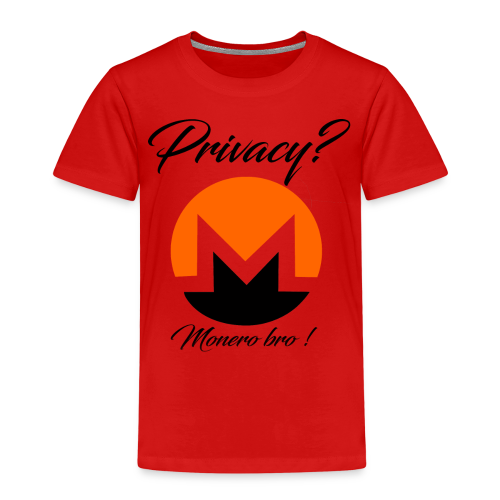 Moneroooo - T-shirt Premium Enfant