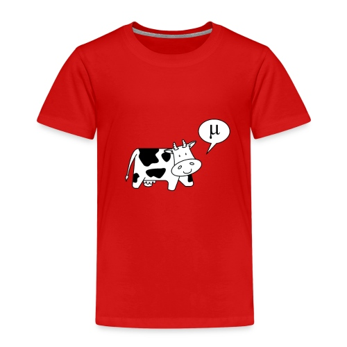 The Cow says Mu - Kids' Premium T-Shirt