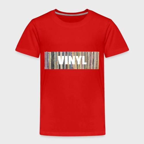 T-Record - Vinyl 'Alles op een rij' - Kinderen Premium T-shirt