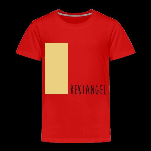 Rektangel Ekologisk T-shirt - Premium-T-shirt barn