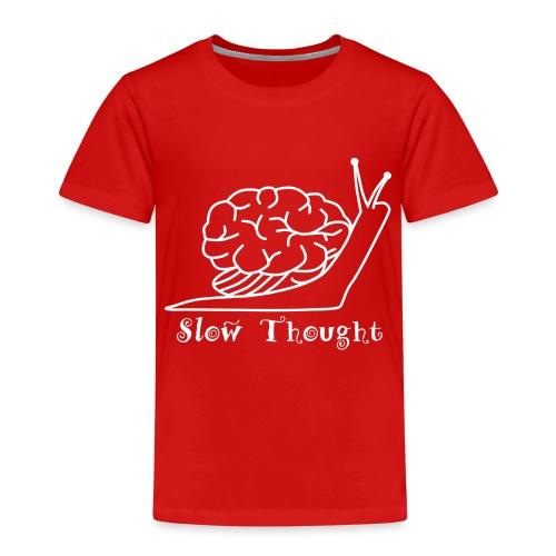 SlowThought (weiß) - Kinder Premium T-Shirt