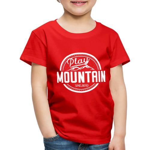 Play Mountain White Edition - Kinder Premium T-Shirt