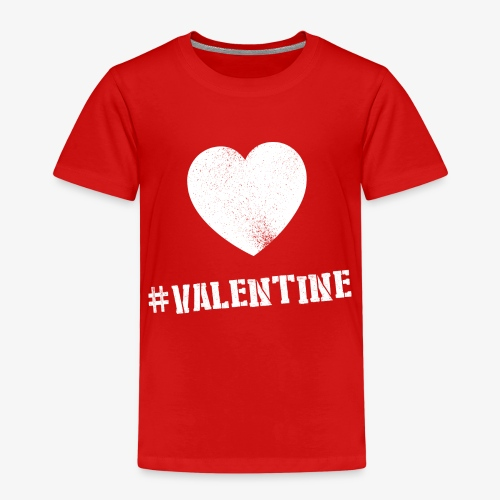 Hashtag Valentine Woman - Kinderen Premium T-shirt
