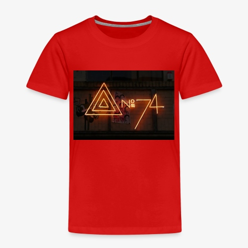 8 no74 02 - Børne premium T-shirt