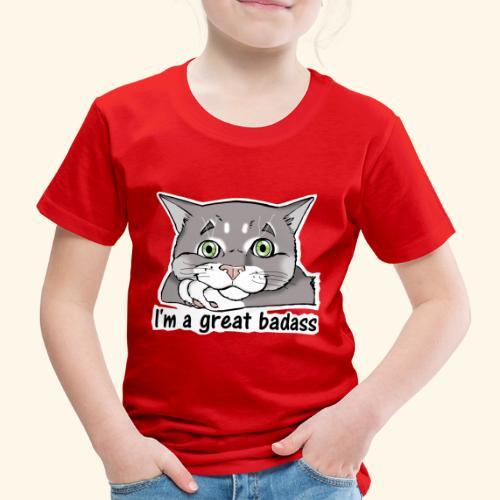 Nice Dogs CATS - Maglietta Premium per bambini