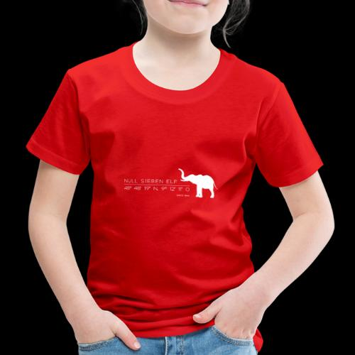 Wilhelma Elefant 1 - Kinder Premium T-Shirt