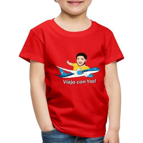Frequent Flyer Yellow Viaja con Yoel - Camiseta premium niño