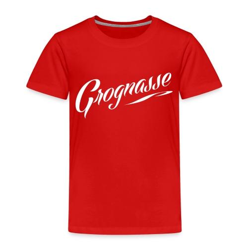 GROGNASSE BLANC - T-shirt Premium Enfant