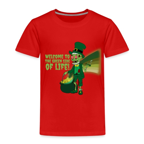 green side - Kids' Premium T-Shirt