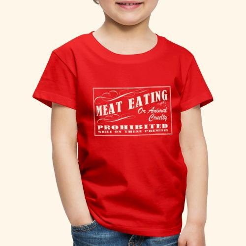 Prohibition Sign - Kids' Premium T-Shirt