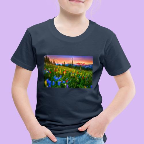Bagliori in montagna - Maglietta Premium per bambini