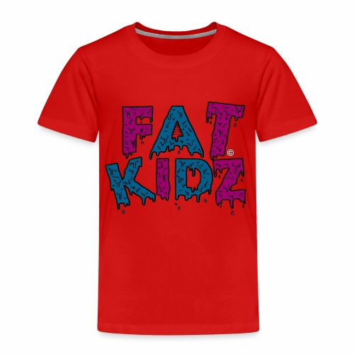 Fat Kidz - Premium-T-shirt barn