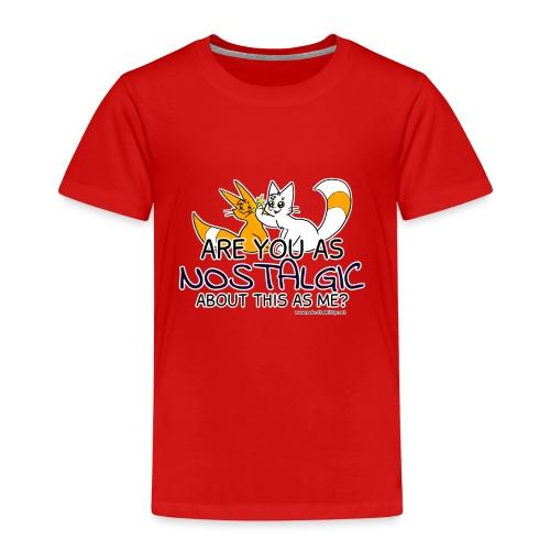 Nostalgia Hurts - Kids' Premium T-Shirt