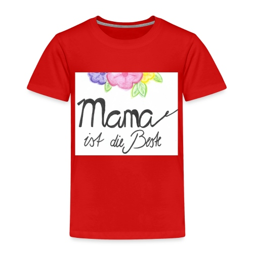 Mama ist die Beste - Kinder Premium T-Shirt