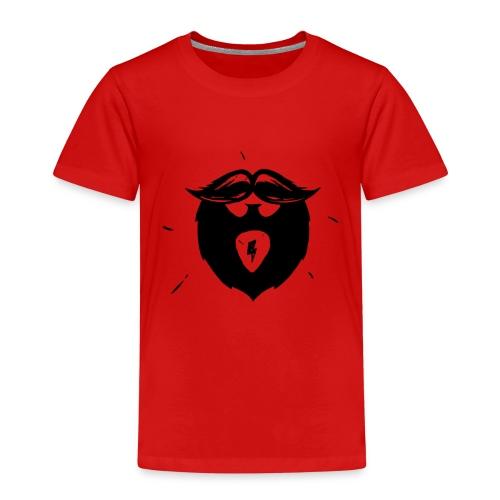 Studio Brewdio Logo Black Just Beard - Kids' Premium T-Shirt