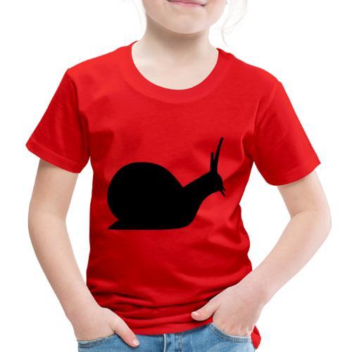 faule Schnecke - Kinder Premium T-Shirt