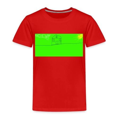 hus - Premium-T-shirt barn