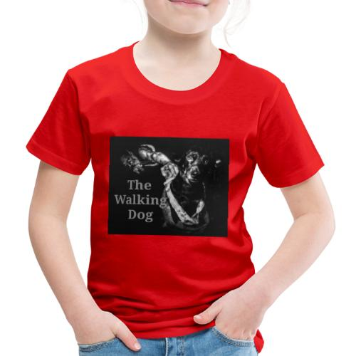 Pies spacerowy - Koszulka dziecięca Premium