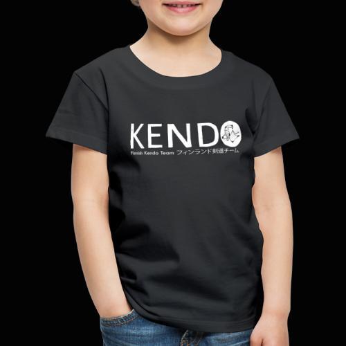 Finnish Kendo Team Text - Lasten premium t-paita