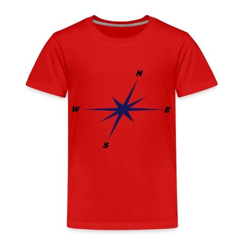 Kompassrose - Kinder Premium T-Shirt