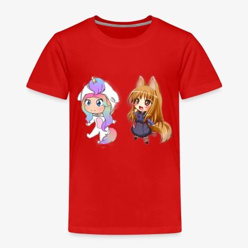 cecilie og jeg - Børne premium T-shirt