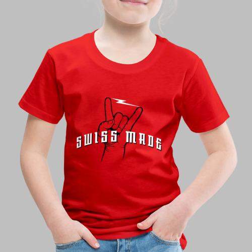 SWISS MADE - Kinder Premium T-Shirt