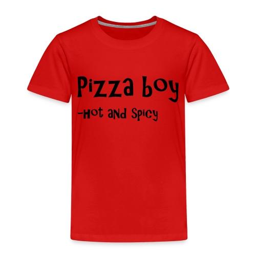 Pizza boy - Premium T-skjorte for barn