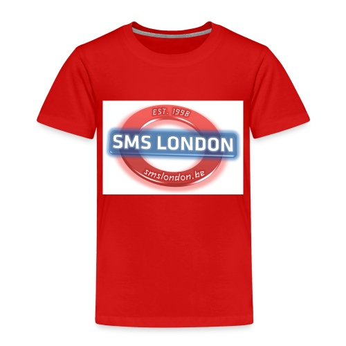 SMS London logo - Kinderen Premium T-shirt