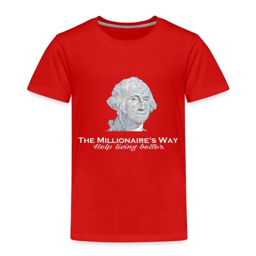 Il nostro logo in bianco - Maglietta Premium per bambini