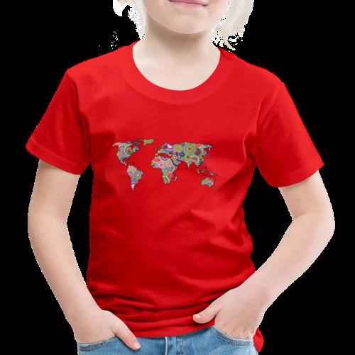 Hipsters' world - Kids' Premium T-Shirt