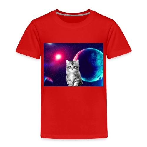 Cute cat in space - Lasten premium t-paita