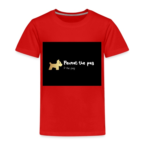 Peanut the Pug Edition - Kids' Premium T-Shirt
