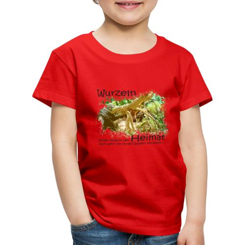 Wurzeln bleiben - Kinder Premium T-Shirt