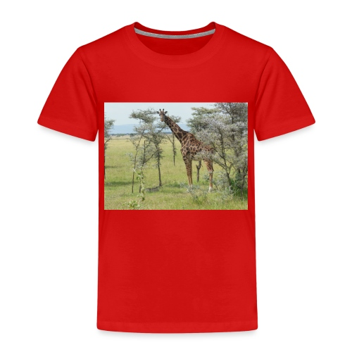 Giraff - Premium-T-shirt barn