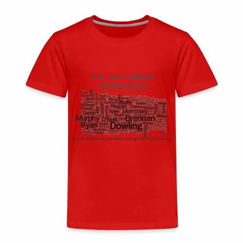 Lá na mBan black - Kids' Premium T-Shirt