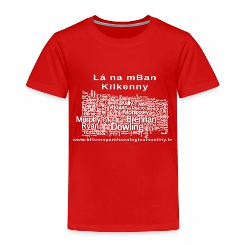 Lá na mban Kilkenny white - Kids' Premium T-Shirt