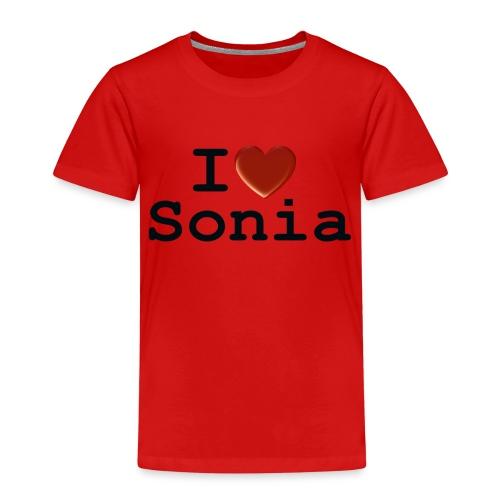i love sonia - Koszulka dziecięca Premium