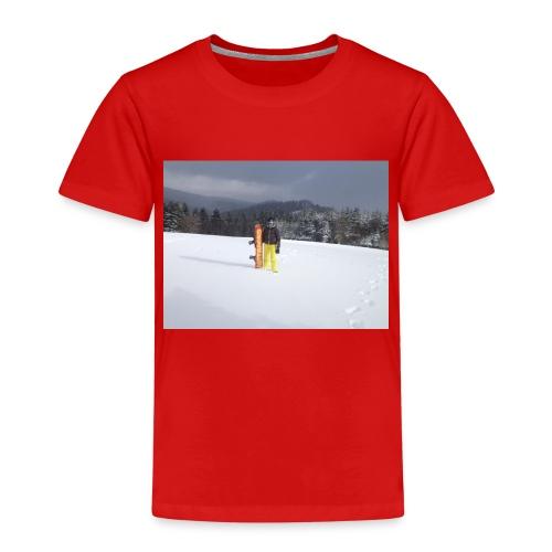 mountain girl - Kinderen Premium T-shirt