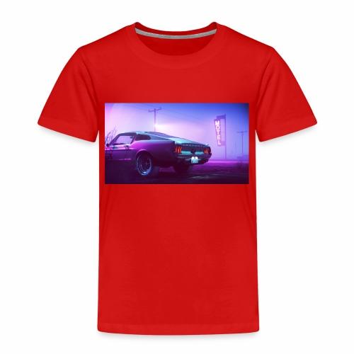 purple scorpion car - Koszulka dziecięca Premium