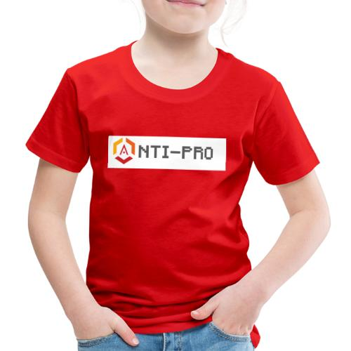 Maglietta Scritta Mario Anti-Pro Semplice - Maglietta Premium per bambini