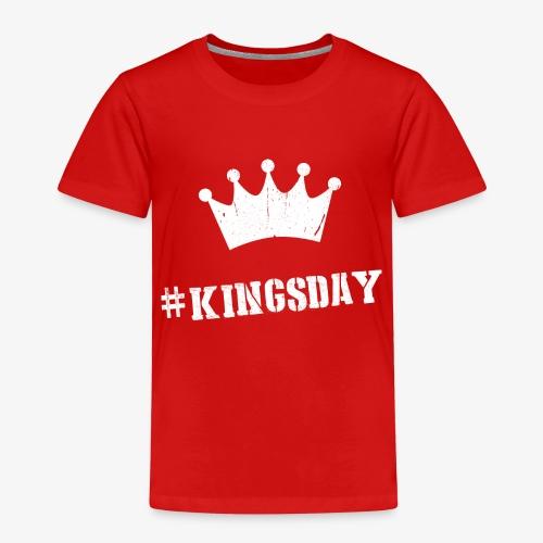 Hashtag Kingsday - Kinderen Premium T-shirt