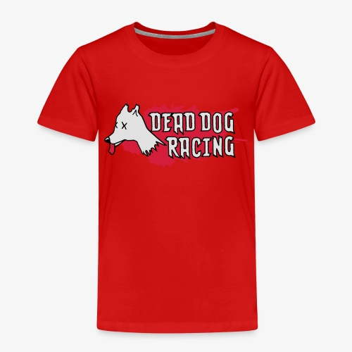 Dead dog racing logo - Kids' Premium T-Shirt