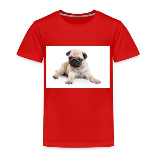 mopshond afdruk/print - Kinderen Premium T-shirt