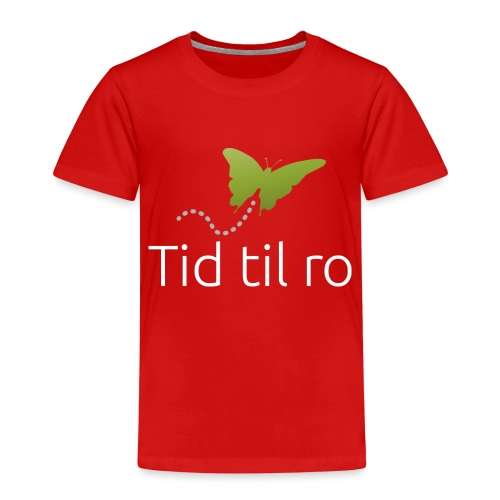 Tid til ro - Børne premium T-shirt