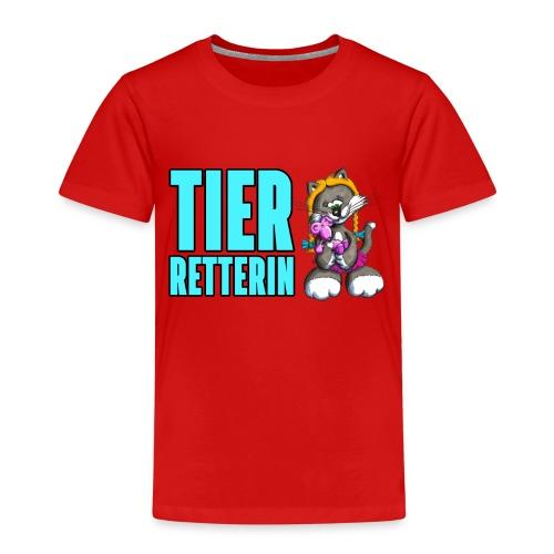 Elli rettet Tiere! - Kinder Premium T-Shirt