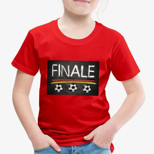 Finale Deutschland - Kinder Premium T-Shirt
