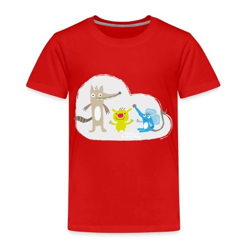 Froehliche Tierchen - Kinder Premium T-Shirt